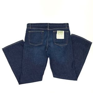 J. CREW Women's Classic Boot Cut Dark Wash Jeans